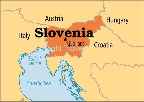 Slovenia Map | Slovenia Location| Map of Slovenia