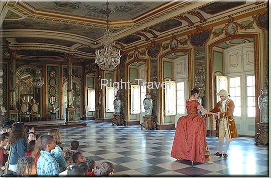 Portugal Queluz Palace The Festivities Room