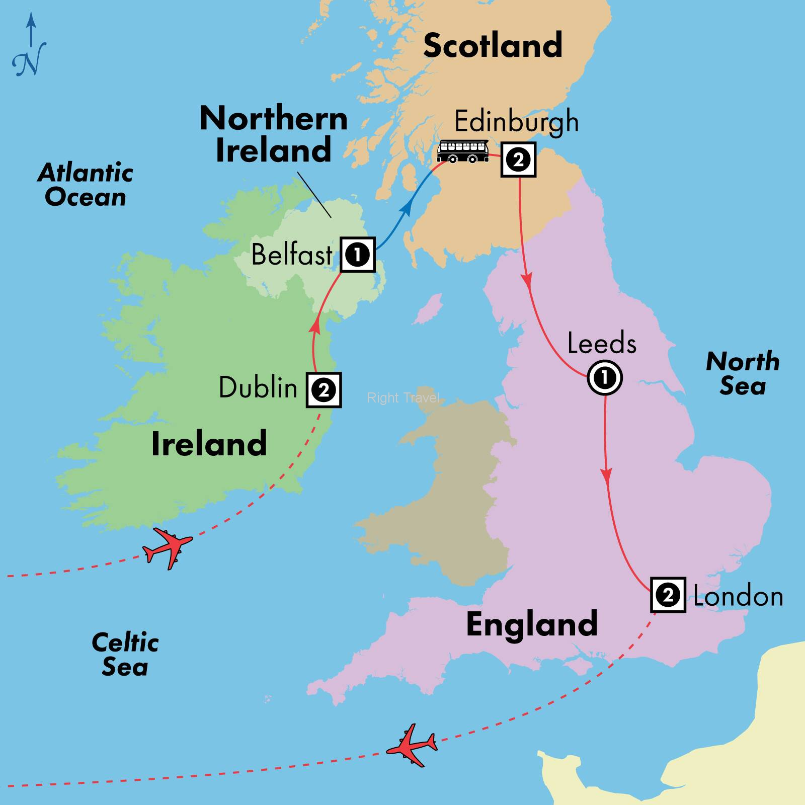 10 Day Affordable Ireland, Scotland & England