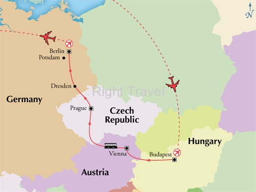 10 Day Affordable Central Europe with Berlin