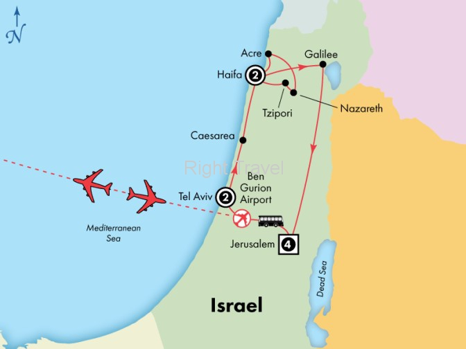 10 Day Deluxe Israel