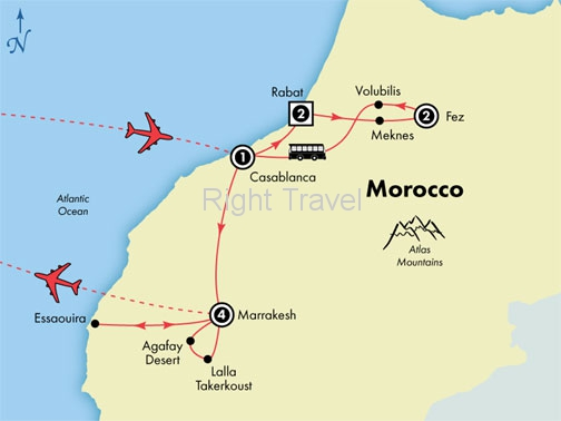 10 Day Deluxe Morocco