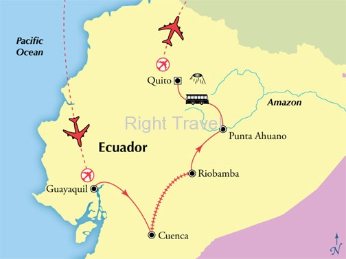 10 Day Kaleidoscope of Ecuador with Andes Mountains & Amazon