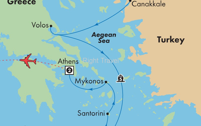 11 Day Istanbul & Athens with 5 Day Aegean Cruise