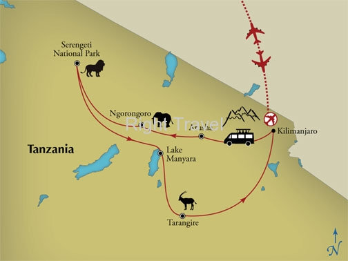 11 Day The Serengeti & Beyond: A Tanzania Safari