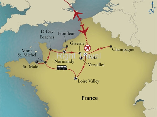12 Day Discover Northern France