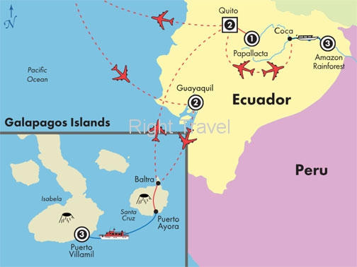 12 Day Galapagos, Ecuador, Andes & Amazon
