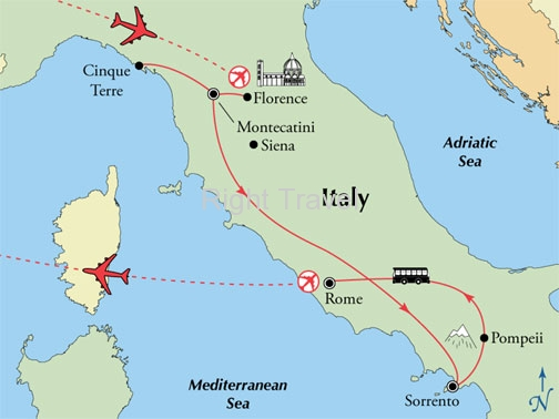 12 Day Tuscany & Amalfi with Rome