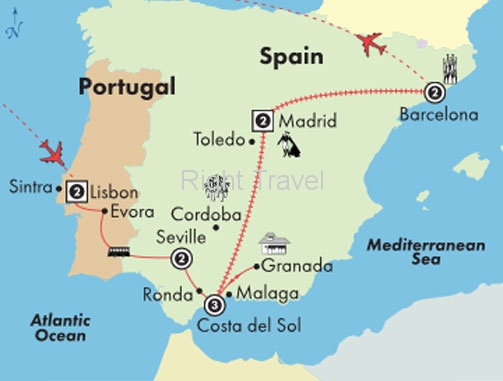13 Day Affordable Portugal & Spain