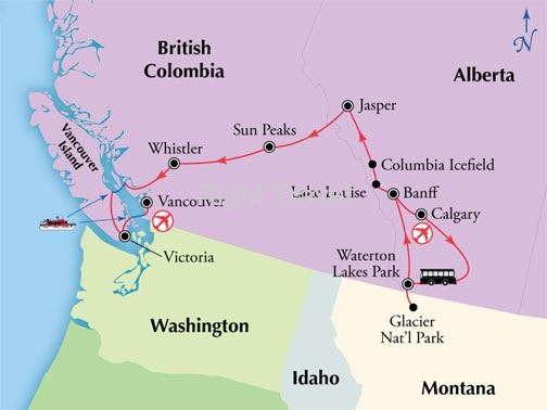 13 Day Canadian Rockies & Western Canada