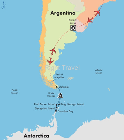 14 Day Antarctica Cruise with Buenos Aires