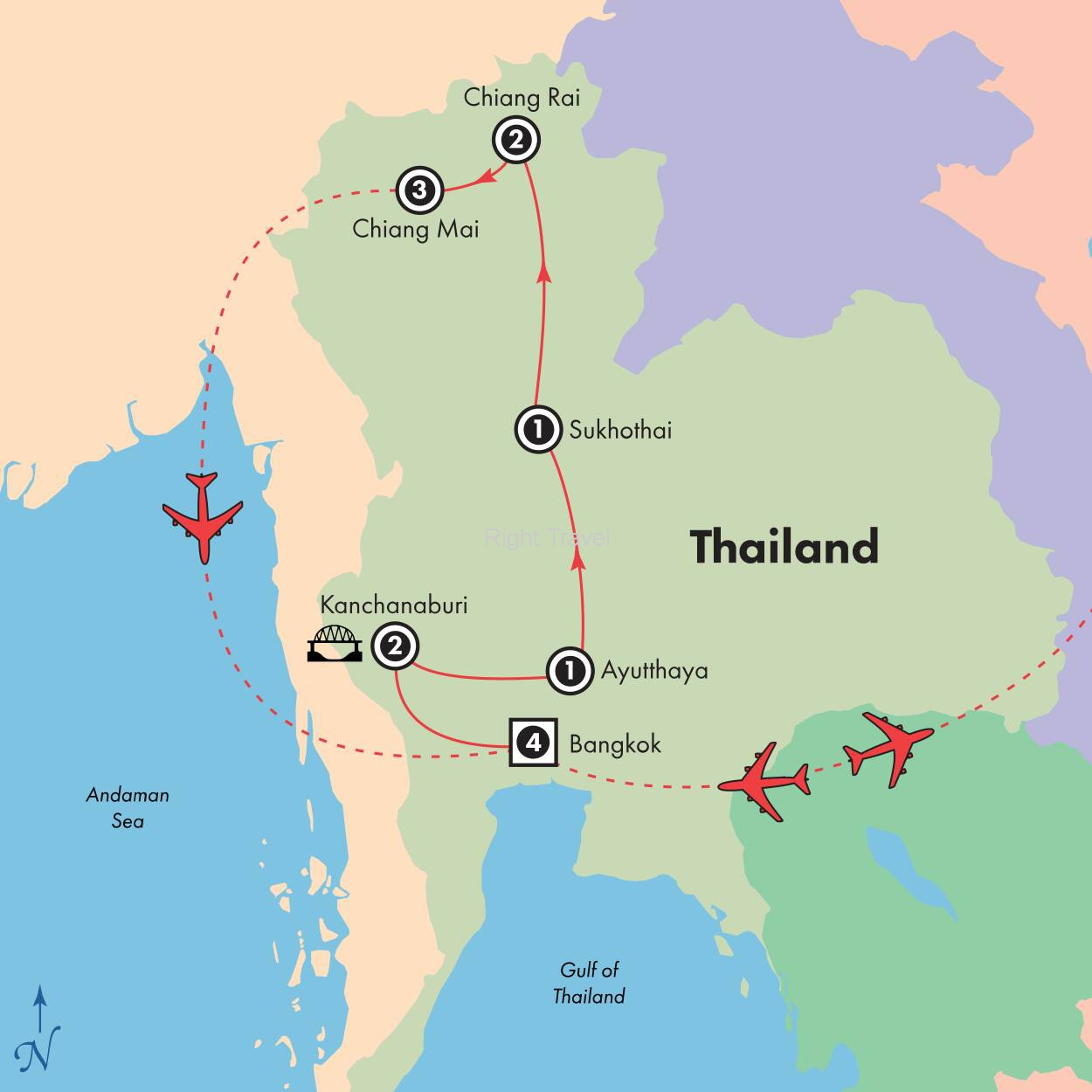 15 Day Kaleidoscope of Thailand with River Kwai