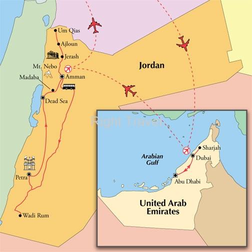 Jordan tours with english speaking guides 15 day classic dubai jordan gumiabroncs Gallery