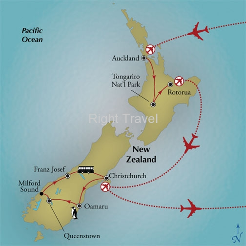 15 Day The Wonders of New Zealand