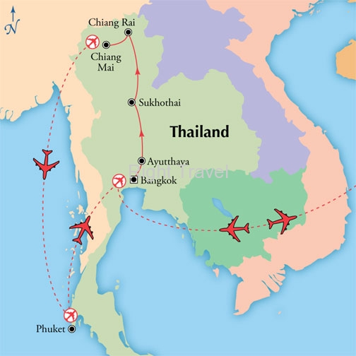 16 Day Classic Thailand with Phuket