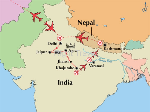 16 Day Kaleidoscope of India with Nepal