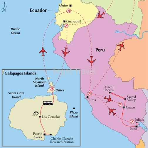 17 Day Affordable Peru with Ecuador & 4 Day Galapagos Islands