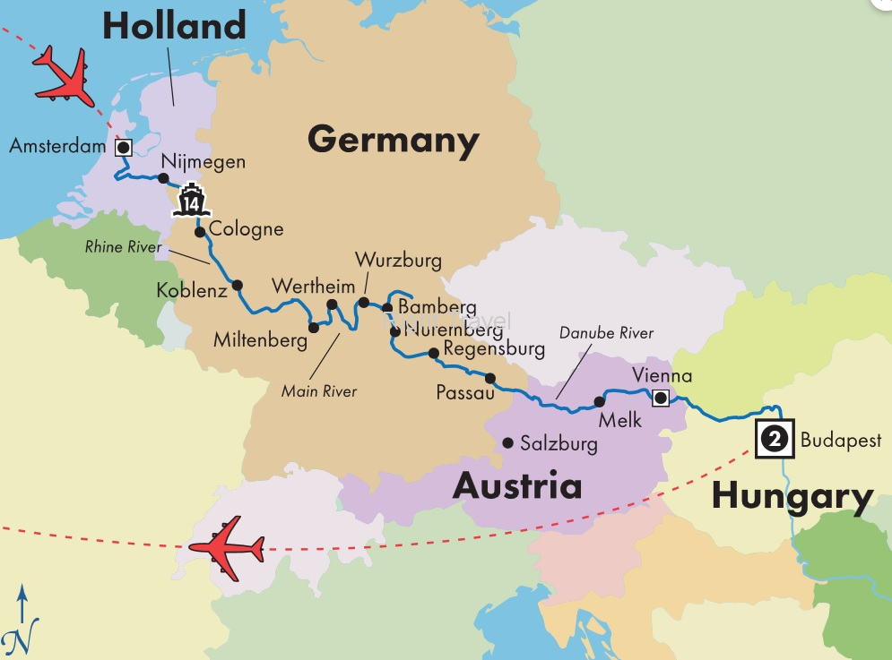 18 Day Classic European River Cruise with Budapest