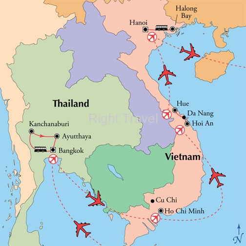 19 Day Central Thailand & Vietnam