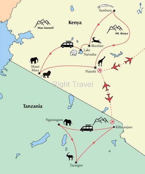 23 Day Kenya & Tanzania Safari Exploration with Zanzibar