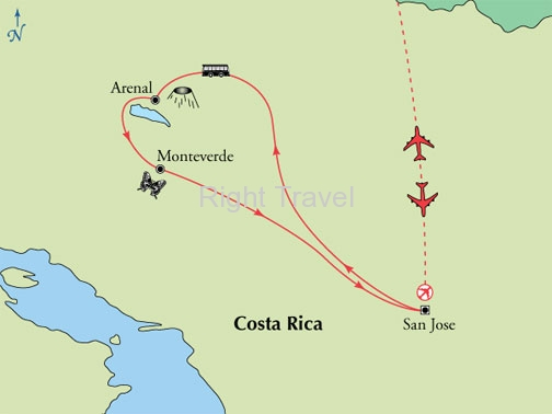 7 Day Costa Rica Fly & Drive