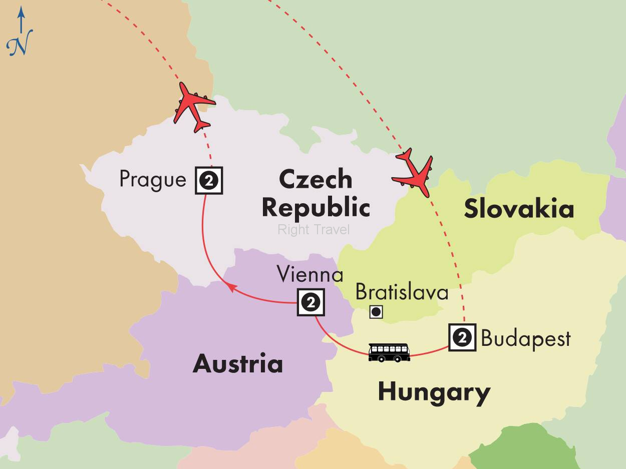 8 Day Affordable Central Europe