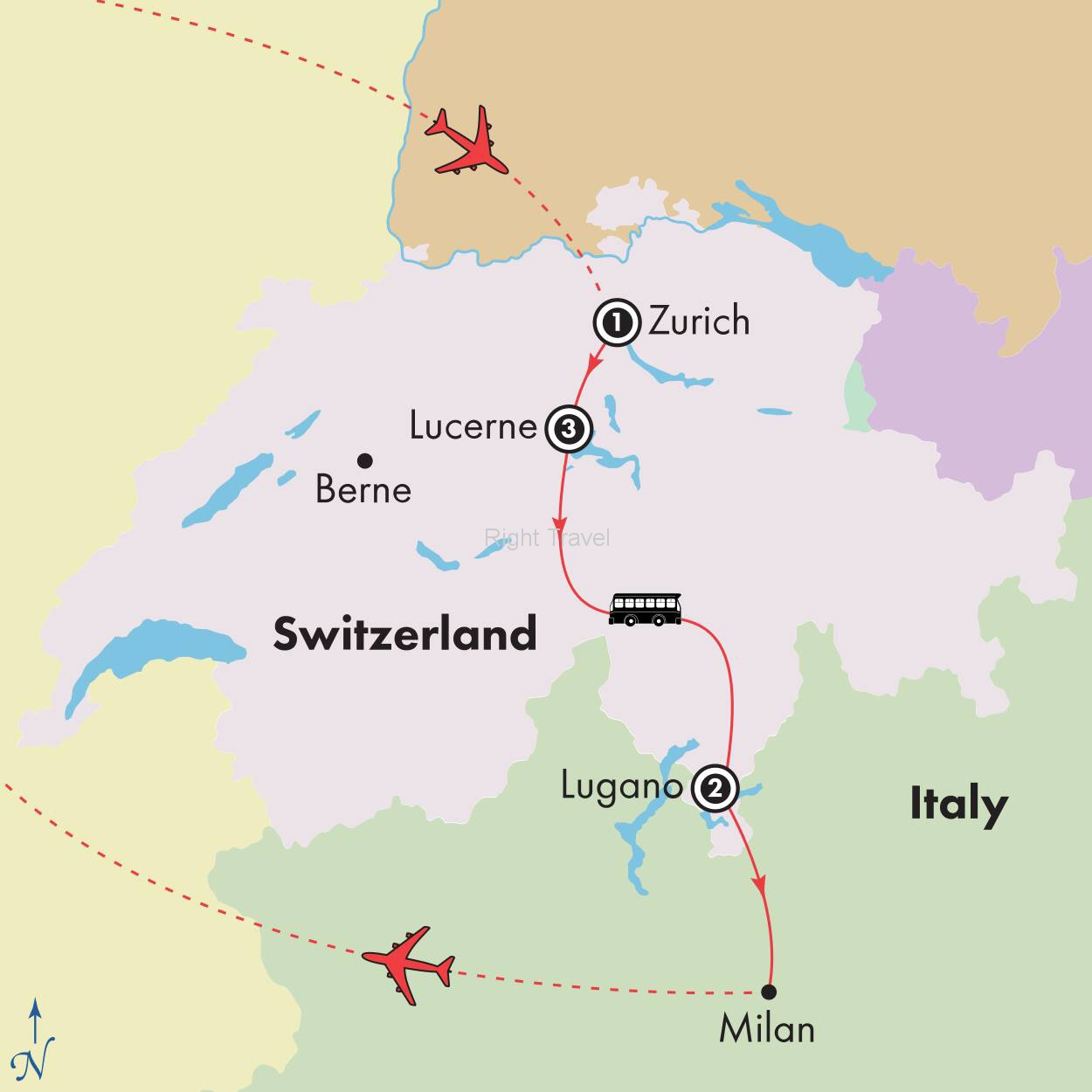 8 Day Affordable Switzerland
