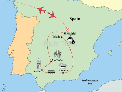 8 Day Affordable Spain