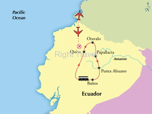 8 Day Classic Ecuador & Amazon Adventure