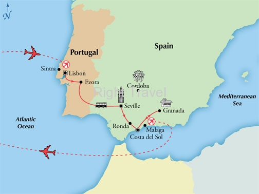 9 Day Affordable Portugal & Spain