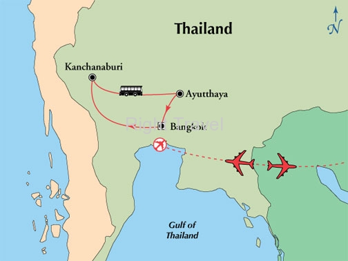 9 Day Central Thailand with River Kwai