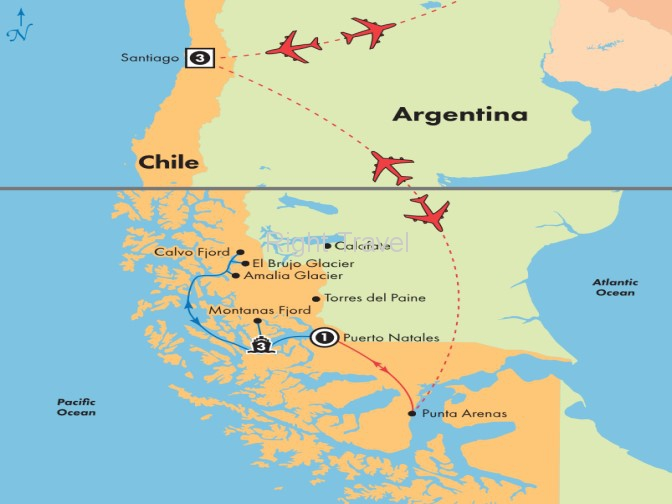 9 Day Chile with 3 Day Patagonian Glacier Cruise