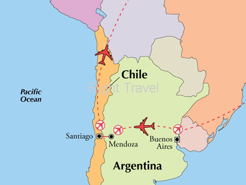 9 Day Classic Argentina & Chile with Mendoza Wine Country