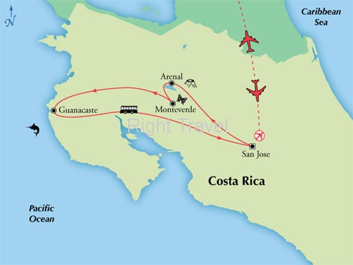 9 Day Classic Costa Rica with Guanacaste