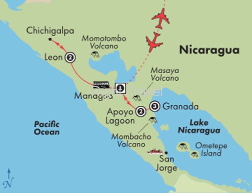 9 Day Discover Nicaragua